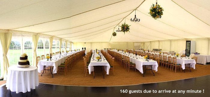 Wedding Marquee Hire In Devon